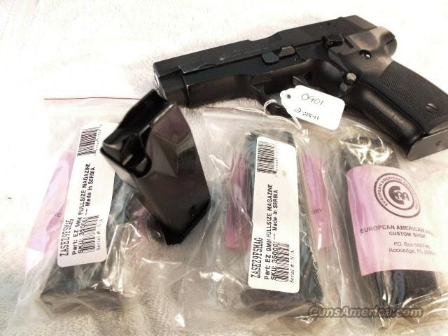 EAA Zastava Factory 15 Shot 9mm Magazine for EZ9 or CZ99 Pistols New EZ-9 CZ-99   Non-Guns > Magazines & Clips > Pistol Magazines > Other