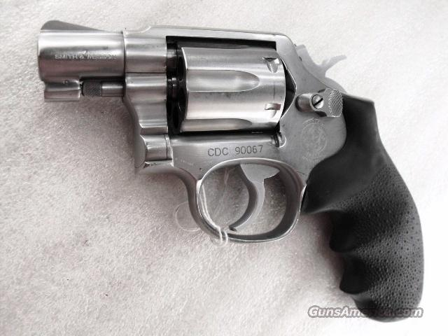 S&W .38 Special model 64-2 Stainless Snub 2 inch Round Butt California Dept of Corrections VG 1991 Smith & Wesson  Guns > Pistols > Smith & Wesson Revolvers > Full Frame Revolver