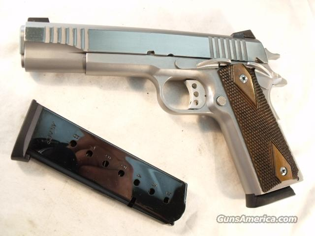 U.S. 1911A1 C. O. Arms Stainless Government Model .45 ACP NIB CO Arms 45 Automatic    Guns > Pistols > Custom Pistols > 1911 Family