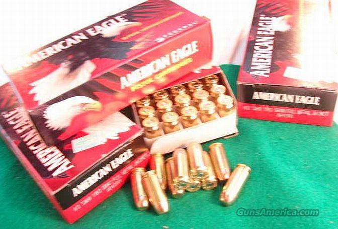 Ammo: .40 S&W Federal 50 Round Boxes American Eagle 180 grain FMC 40 Smith & Wesson Full Metal Case Ammunition Cartridges  Non-Guns > Ammunition