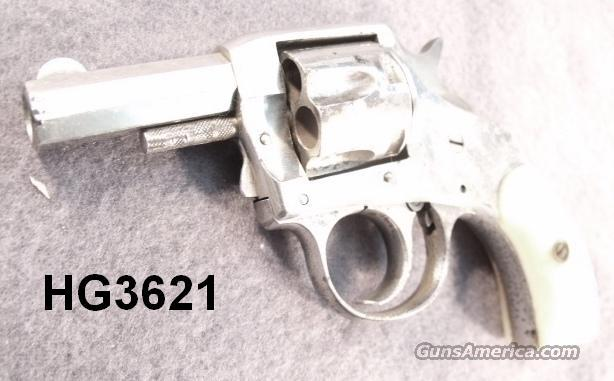 Grips Mother-of-Pearl H&R .32 S&W Young America Exc. ca. 1907 with Parts  Non-Guns > Gunstocks, Grips & Wood