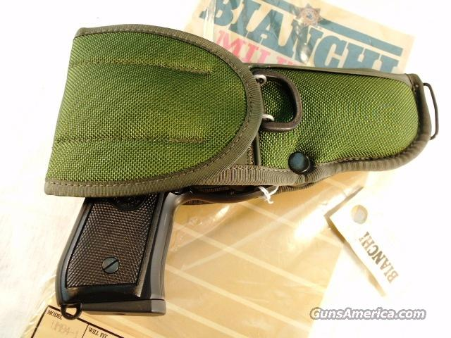 Holster Bianchi UM 84 OD Green Beretta 92 & Similar M9 92FS Holster GI type NIB  Non-Guns > Holsters and Gunleather > Police Belts/Holsters