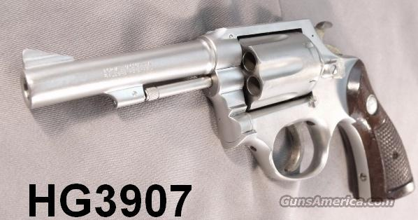 Taurus .38 Spl Satin Nickel 80 Pencil Barrel 4 in Exc mfg. 1981 St. James Louisiana Sheriff's Department  Guns > Pistols > Taurus Pistols/Revolvers > Revolvers
