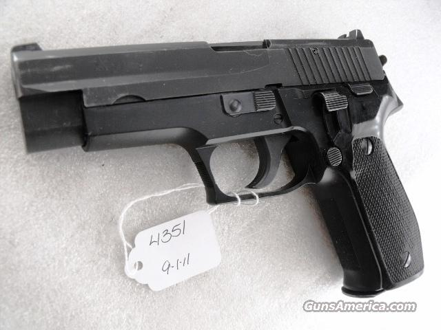 Sig 9mm P-226 Swiss Police 1987 VG Lucerne P226 Sig Sauer all German w/2 Pre-Ban Sig Magazines CA MA OK			  Guns > Pistols > Sig - Sauer/Sigarms Pistols > P226