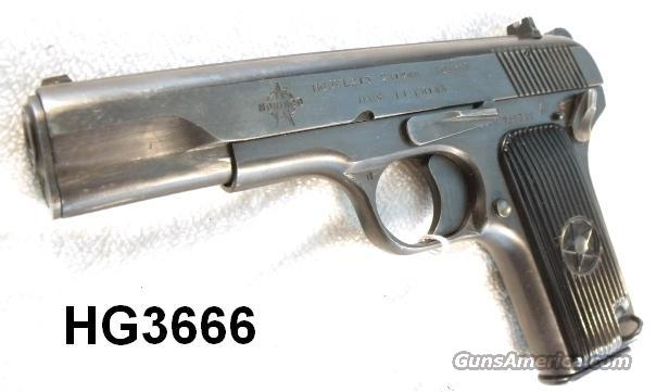 Norinco 9mm IAC model 213 5 in VG-Exc ca. 1988  Guns > Pistols > Military Misc. Pistols Non-US