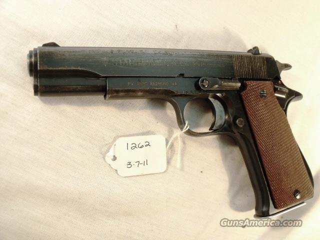 Star Spain 9mm Model B Super Israeli Police 1975 Colt Government Type  Guns > Pistols > Star Pistols