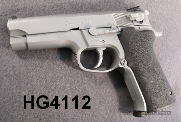 S&W 9mm 5906 Steel Stainless Exc Refin 2 Mags   Guns > Pistols > Smith & Wesson Pistols - Autos > Steel Frame