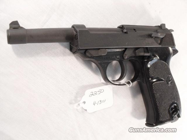 Walther 9mm P-38 variant Parkerized VG 1958 P38 Federal German Police Bundespolizei   Guns > Pistols > Surplus Pistols & Copies