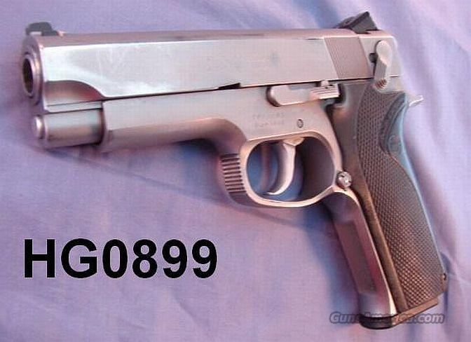 S&W .45 ACP 4566 Commander Sz Stainless VG 1991 Box & 2 Mags  Guns > Pistols > Smith & Wesson Pistols - Autos > Steel Frame
