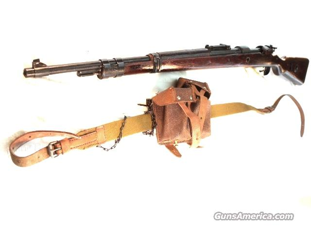 WWII German 98 Mauser 8mm AG Oberndorf Manufacture Russian Arsenal Refin. Walnut VG-Exc 1942 Waffenamt Marked 8x57 Army  Guns > Rifles > Mitchell's Mausers Rifles