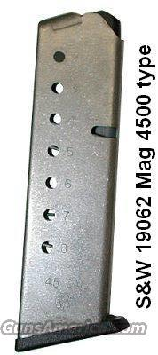 Magazine S&W .45 SS 8 Round 4500 type VG-Exc 4506, 4566  Non-Guns > Magazines & Clips > Pistol Magazines > Smith & Wesson