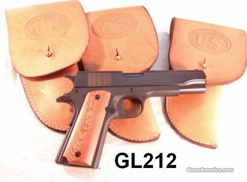 Holster Colt 1911 type .45 GI copy US Hand Made Leather  Non-Guns > Holsters and Gunleather > 1911