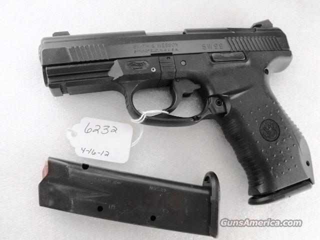S&W .40 cal model SW99 VG Night Sights 13 Shot 2 Magazines Charlotte North Carolina Police 40 Smith & Wesson caliber ca 2003	  Guns > Pistols > Walther Pistols > Post WWII > P99/PPQ