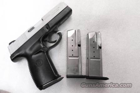Pair of Magazines Smith & Wesson SW40 SW40E SW40VE NO SW40F NO SD Factory 10 Shot Magazines .40 S&W Caliber Stainless ca 2002  Non-Guns > Magazines & Clips > Pistol Magazines > Smith & Wesson