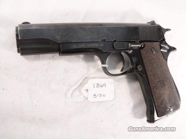 Star Spain 9mm Model BS Colt Government Size Steel Frame 1968 Israeli Army Police VG-Exc 1 Magazine  Guns > Pistols > Star Pistols