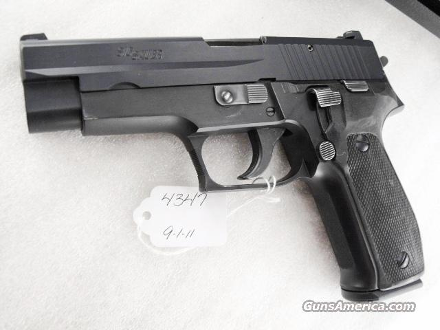 Sig 9mm P-226 Swiss Police Black Ice Teflon Slide P226 Sig Sauer all German with two new Mec-Gar 18 Round Magazines CA MA OK 1984 	  Guns > Pistols > Sig - Sauer/Sigarms Pistols > P226