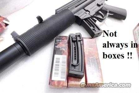 4 or more Magazines for GSG 522/5 German Sport .22 LR 10 Shot Polymer NIB Made in Germany GSG-522-5 GSG 5 HK MP-5 HK94 Rimfire Clone Copy $24.75 per on 4 or more  Non-Guns > Magazines & Clips > Rifle Magazines > Other