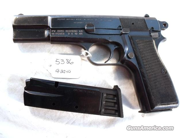 FN Browning Hi-Power Israeli Good 9mm 1969 w/2 Magazines High Power HiPower Belgium Belgian Commander Hammer  Guns > Pistols > Military Misc. Pistols Non-US