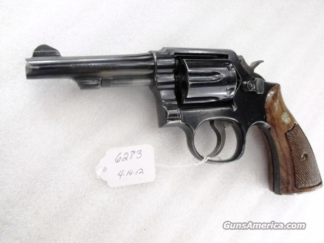 Smith & Wesson model 10-7 Pinned Barrel 4 inch Pencil 1979 LTV Dallas Texas Cold War Aircraft Producer Security Revolver    Guns > Pistols > Smith & Wesson Revolvers > Model 10