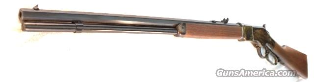 1866 Winchester King's Improvement close Copy Chaparral Arms .357 Magnum Color Casehardened Walnut NIB 357 Mag .38 Special 38 Spl Transitional Style close to 1873 Model Navy Arms Competitor   Guns > Rifles > Henry Rifles - Replica