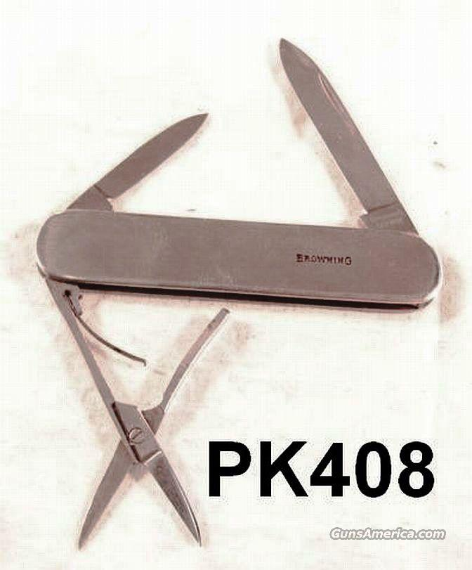 Browning German Stainless Medic Knife Exc 1970s-80s  Non-Guns > Knives/Swords > Knives > Folding Blade > Imported