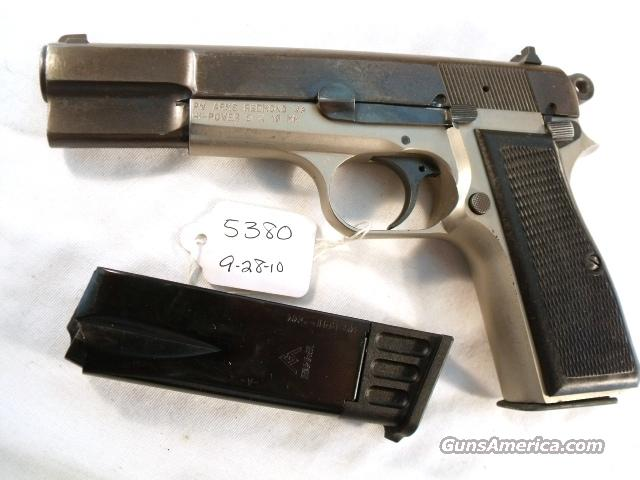 FN Browning 9mm Hi-Power Israeli G-VG 1969 Updated w/2 Magazines High Power HiPower Belgium Belgian Fabrique Nationale   Guns > Pistols > Military Misc. Pistols Non-US