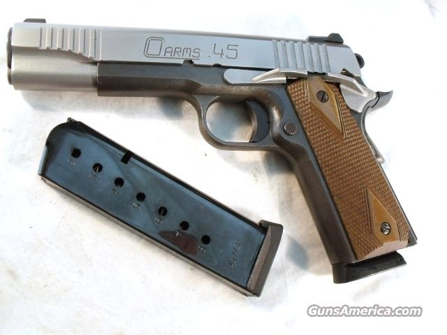 Delta Elite type 1911A1 C. O. Arms  .45 ACP Test Fired Only CO Arms 45 Automatic   Guns > Pistols > Custom Pistols > 1911 Family