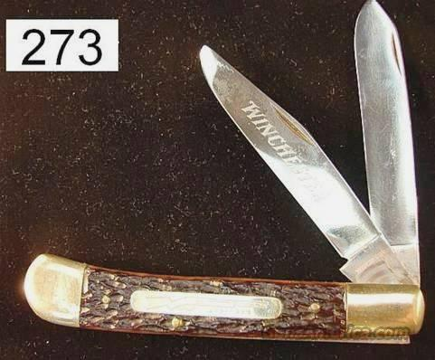 Knife: Winchester 73 Centennial Giant Trapper Exc 1973  Non-Guns > Knives/Swords > Knives > Folding Blade > Hand Made