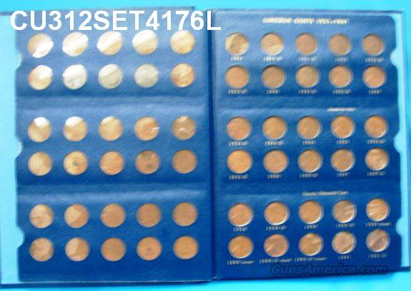 Coins US Lincoln Cents 1941-1976 No S All F-AU 87 Count  Non-Guns > Coins