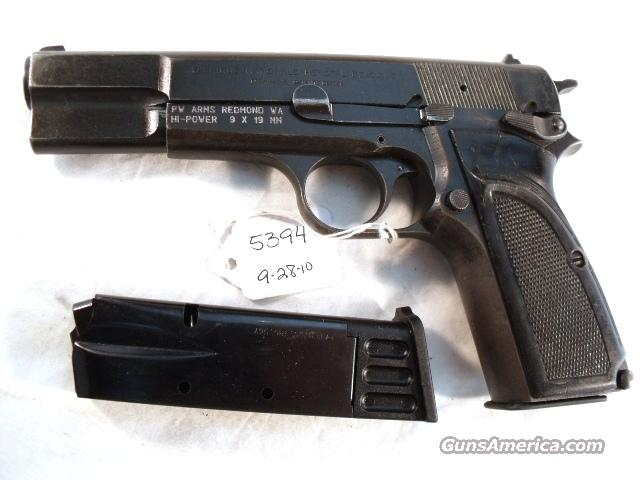 FN Browning 9mm Hi-Power Israeli Good 1985 w/2 Magazines  Guns > Pistols > Military Misc. Pistols Non-US