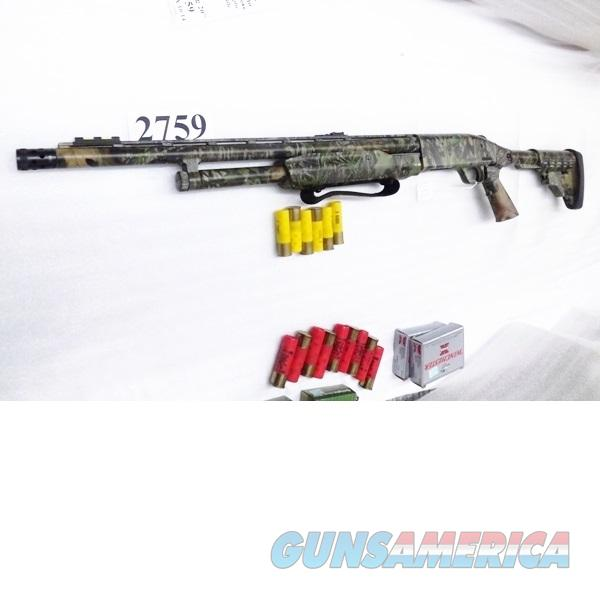 Mossberg 20 gauge model 500 Turkey Thug Tactical 6 Shot 3 inch 20 in Camo Fiber Optic Sights M4 Collapsible 6 Position Buttstock Pump Shotgun 54565  Guns > Shotguns > Mossberg Shotguns > Pump > Sporting