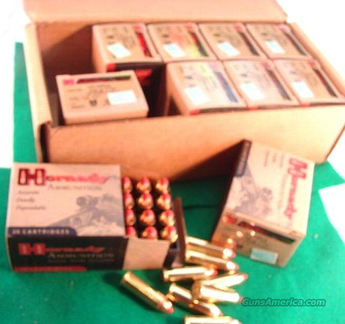 Ammo: .44 Magnum 20 round Boxes Hornady 225 FTX Leverevolution Ammunition Cartridges 44 Remington Magnum Lever Action Rifle, Revolver, or Auto  Non-Guns > Ammunition