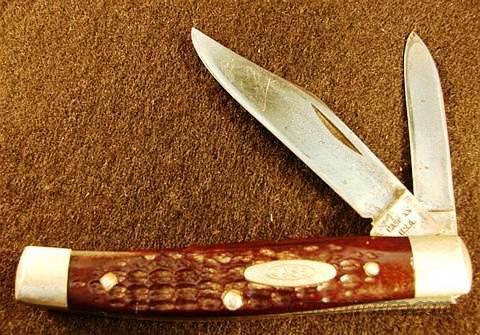 Knife: Case 6292 Texas Jack 1975 VG Bone Handles  Non-Guns > Knives/Swords > Knives > Folding Blade > Hand Made
