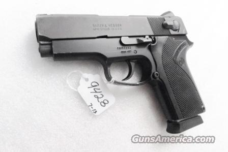 Smith & Wesson .45 ACP model 457 Compact Lightweight 3 3/4 inch Matte Blue 3 Safeties Syracuse NY PD 1996 First Year of Production VG  Guns > Pistols > Smith & Wesson Pistols - Autos > Alloy Frame