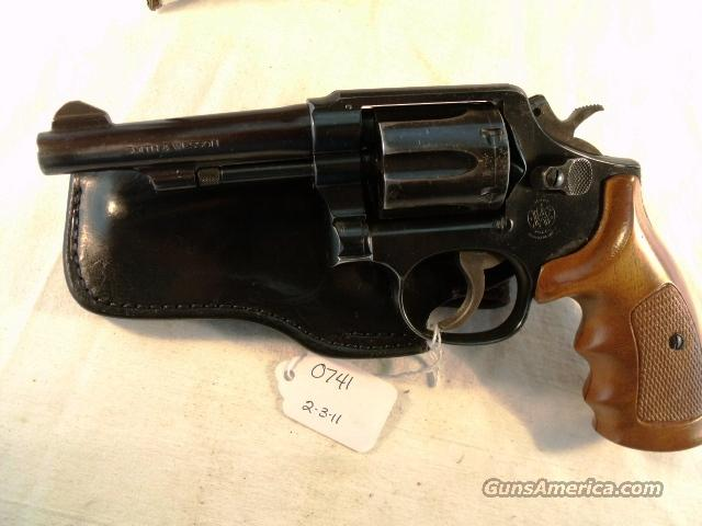 S&W .38 Special Model 10-5 Blue 4 inch Pencil Pinned Barrel 38 Spl M10 mod 10 VG 1981 Delaware Department of Corrections   Guns > Pistols > Smith & Wesson Revolvers > Full Frame Revolver