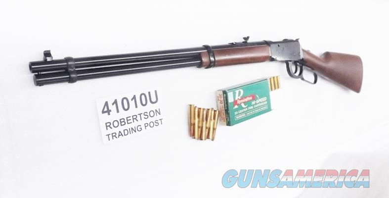 Mossberg .30-30 Winchester 94 AE Angle Eject type model 464 Blue & Wood 20 inch 7 Shot Tang Safety 41010 Lever Action Repeating Rifle 3030  Guns > Rifles > Mossberg Rifles > Lever Action