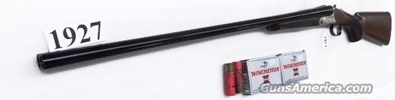 Mossberg International 12 gauge Double Barrel Silver Reserve 3 inch 28 in Single Selective Trigger Nickel Engraved Receiver Sales Rep Demo with 2 Beretta Mobil-Choke thread Tubes Walnut Stock & Forend  Guns > Shotguns > Mossberg Shotguns > SxS