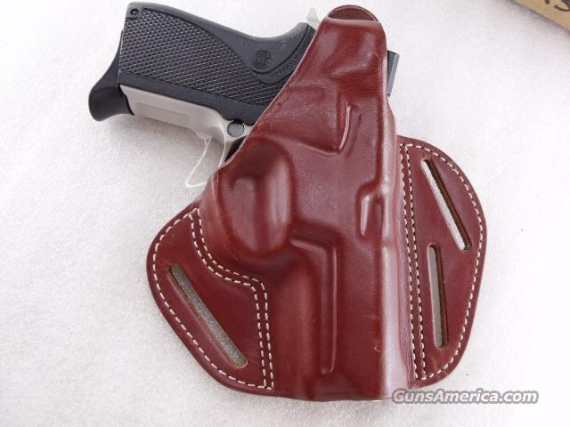 Holster 6900 Smith & Wesson Old World Red Leather Excellent Pancake Concealment Unlined Right Hand Shooter 3 Slot Italian Made S&W 6904 6906 6946 4013   Non-Guns > Holsters and Gunleather > Large Frame Auto