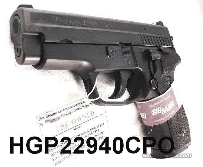 Sig .40 S&W P-229 CPO 13 Shot 2 Magazines Mint in Box Certified Pre Owned Sig Sauer Arms  Guns > Pistols > Sig - Sauer/Sigarms Pistols > P229