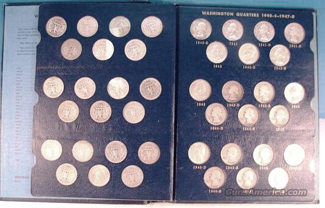 Silver: Washington Quarter Complete Set 1932-1964 Total 83 Quarters  Non-Guns > Coins