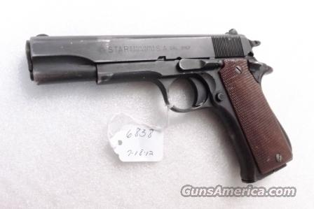 Star Spain 9mm Model BS Colt Government Size Steel Frame 1974 Israeli Police 9 Shot 1 Magazine  Guns > Pistols > Star Pistols
