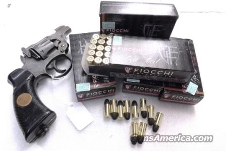 Ammo: .38 S&W Caliber Fiocchi 145 grain Lead Round Nose 250 Round Lots of 5 Boxes Ammunition Cartridges 38 Smith & Wesson Short Not Special Not Super  Non-Guns > Ammunition