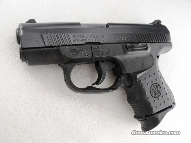 Smith & Wesson .40 Sub Compact Walther 990L Black Stainless 9 Shot 2 Magazines Original Box & Papers 2005 Factory Demo  Guns > Pistols > Smith & Wesson Pistols - Autos > Polymer Frame