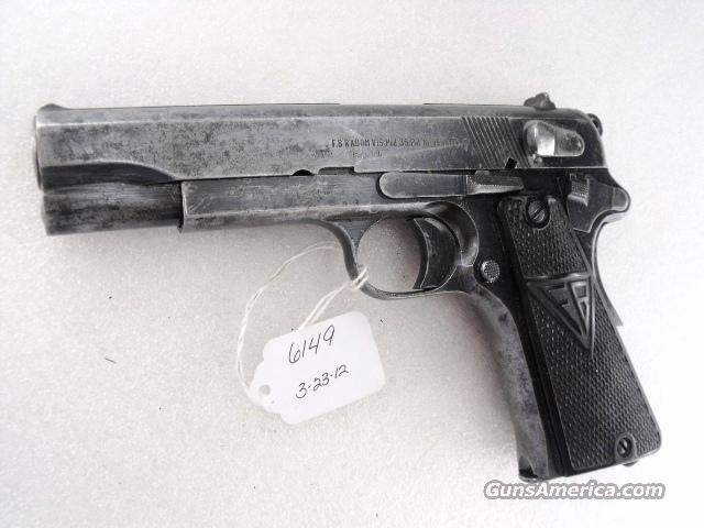 WWII Polish VIS Radom 35 9mm Nazi Proofed Early 1941 Variant Fair Condition Hammer Drop Decocker Assembly Missing   Guns > Pistols > Military Misc. Pistols Non-US