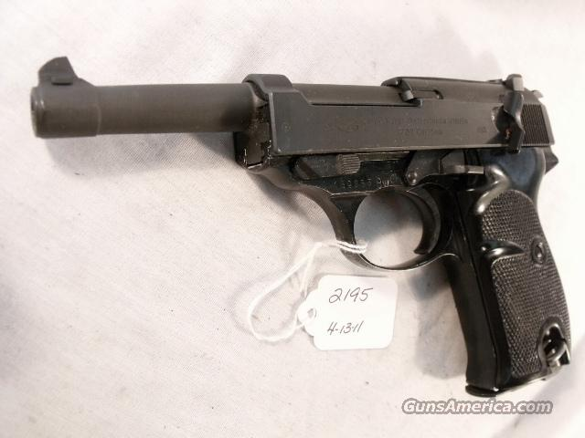 Walther 9mm P-38 Lightweight Parkerized VG 1962 P38 Federal German Police Bundespolizei C&R CA OK in 2012  Guns > Pistols > Walther Pistols > Post WWII > P38