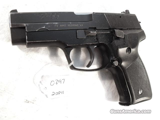 Zastava 9mm CZ99 Yugo VG  Pirated Sig Design ca 1992 CZ-99 Crvena Zastava Yugoslavia Very Good 1 Magazine Israeli Police Confiscated Weapon  Guns > Pistols > FIE Pistols