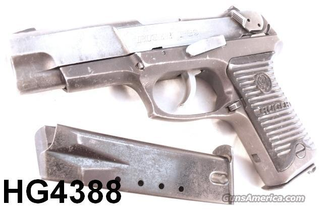 Ruger 9mm P-89 Lightweight 2 Mags 1993 First Yr. Prod.  Guns > Pistols > Ruger Semi-Auto Pistols > P-Series