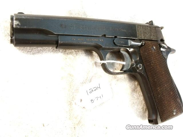Star 9mm Model B Colt Government Size Steel Frame 1953 Israeli Army Police VG 1 Magazine  Guns > Pistols > Surplus Pistols & Copies