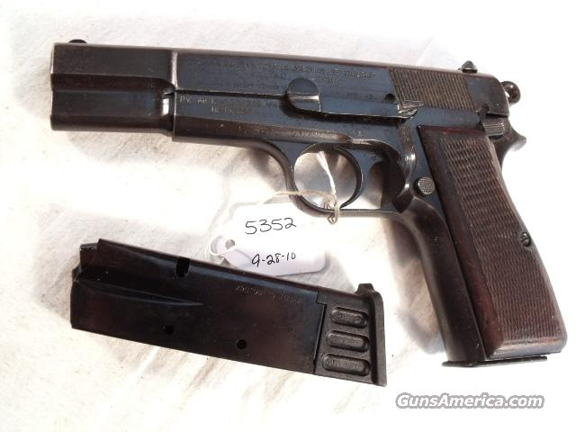FN Browning 9mm Hi-Power Israeli Good Cond. ca 1950 w/2 Magazines  Guns > Pistols > FNH - Fabrique Nationale (FN) Pistols > High Power Type