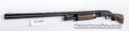 Mossberg 12 gauge model 500 Classic 2011 50th Anniversary All Purpose Bright Blue & High Gloss Walnut 3 inch 28 inch Ported Vent Rib Accu-choke Recoil Pad Excellent Condition Factory Demo 50123U   Guns > Shotguns > Mossberg Shotguns > Pump > Sporting